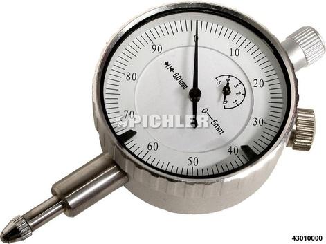 Messuhr 0 bis 5mm Durchmesser 41mm 0,01mm (Genauigkeit)