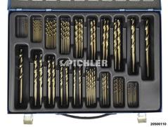 HSSE/CO Bohrer Magazin 87-teilig 0,5mm steigend 1 - 10 mm