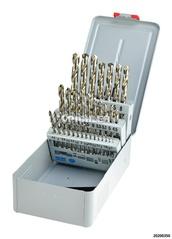 Bohrkassette 1-10,5 mm 32-tlg HSS Cobalt DIN 338 RN inkl. Kernlochtabelle