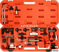 Timing adjust and locking tool set for VAG