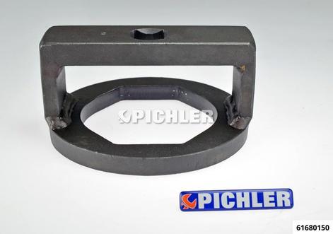 Achsmutternschlüssel SW 95 flach-oval BPW 9 t Achse