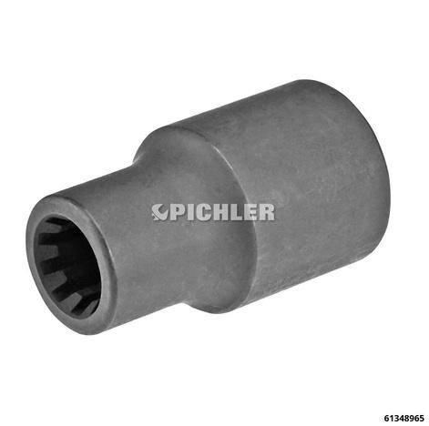"""Bremssattel-Spezialeinsatz 1/2"""" Porsche, Audi 9 mm, 10 Kant"""