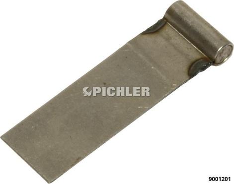 Anschweissbleche 25mm breit VPE 25 Stk.