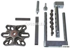 Anbausatz zu vorhandenen Werzeugen für Vorderradlagerwerkzeugset für Mercedes Sprinter, Vito, Viano der Generatio