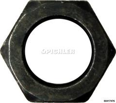 6-kt Mutter M16x1,5 DIN934 Fkl10.9 Schwarz für 6041748 Spindel