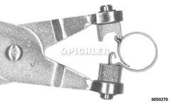 "Hose clamp pliers model ES for ""CLIC"" clamps"