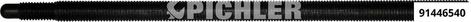 Spindel M 16 für 9144650 Regelgewinde Qualität 12.9 ohne Mutter und ohne Lager Steigung 2,0