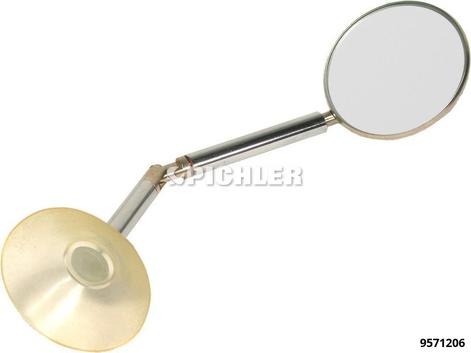 Autoglasreparatur Set Ersatzspiegel komplett mit Saugfuß
