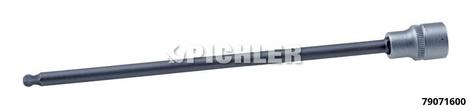 Kugelkopf-Inbuseinsatz 3/8 SW 6 x 215 mm lang