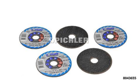 Jeu de 5 disques de rechange pour MINI-FLEX (réf:8043650)