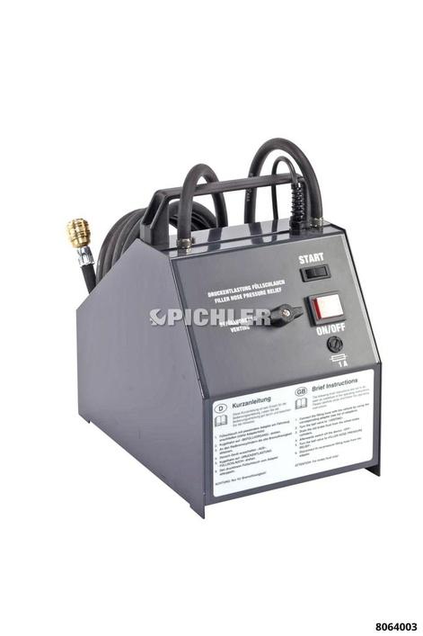 Bremswartungsgerät PERFECTA I Max. Gebindegröße 5 Liter 230V 2 Bar fix / ABS-tauglich