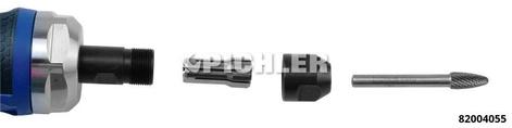 Druckluft-Stabschleifer BIONIGRIP Spannzange 6 mm,0,75 PS