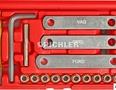 Gewindereparatursatz 9x1,25 Bremssattel-Führungsbolzen i.Radlagergehäuse m.Buchsen