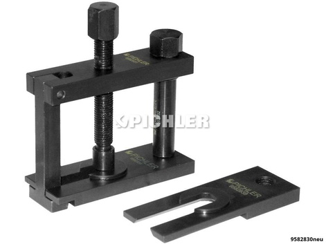 Heckwischerarm-Abzieher UNI 6-tlg. mit 2 Abziehplatten RENAULT alle neuen Modelle