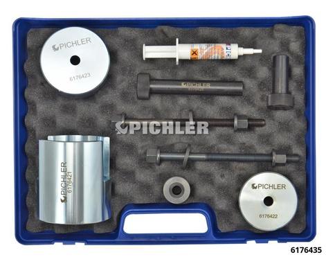Silentlager Werkzeugsatz HA ohne Lehre 8-teilig für Mod. RENAULT Laguna II