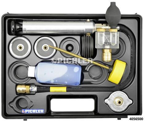 Kühlsystem-Prüfgerät Mod.N komplett im Koffer m. Metalldeckel LR 150/46
