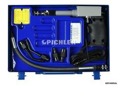 Compress mod. D SK, mot. Diesel 10-50 ba sans adaptateurs, avec tuyau, 2 coudes, et cartes