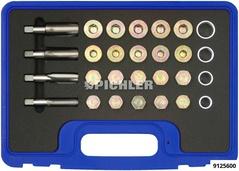 Jeu de réparation bouchons de vidange conique M13, M15, M17, M20