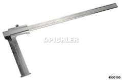 Bremstrommel Schiebelehre Mod.2  0-500 mm