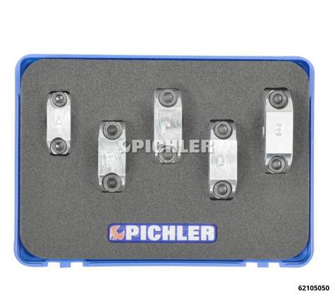 Fixierklemmen Set 5-tlg. für Stoßdämpfer Klemmwerkzeug, schraubbar