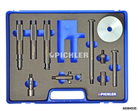 Injector disassembly set Mod.UNI III, 9-piece, manual actuation