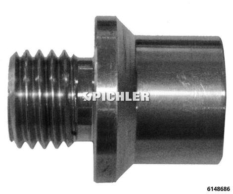 Druckstange Länge 50 mm drm.31mm für LKW Radnabenabzieher universell passend 8 Bolzen 275 mm10 Bolzen mit 335 mm