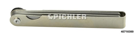 Fühlerlehrenset 20-tlg. Mod. III  0,05 - 1,0 mm