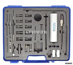 Injector Shaft Cleaning Set Starterset (Modul 1, 2  Koffer)