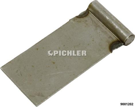 Anschweissbleche 40mm breit VPE 25 Stk.