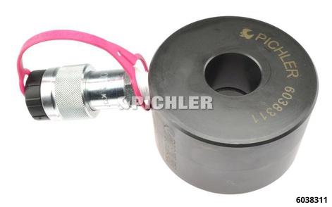Hydraulischer Hohlkolbenzylinder 20t Hub 8mm