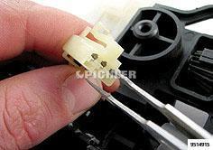 Reinigungswerkzeug Set 3-tlg. Diamant- beschichtet für flache Kontakte in Steckverbindungen