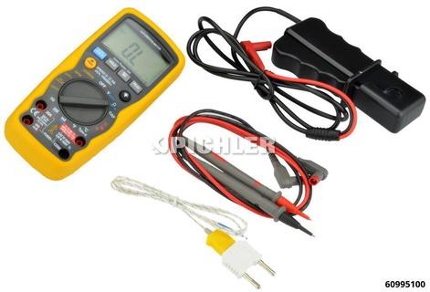 Digital HYBRID-Multimeter CAT III - 20A Induktiv Messaufnehmer,Messwertspeicher, Impulsbreitmessung in Millisekunden