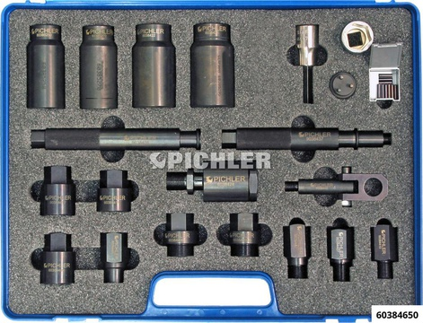 Injector Removal and Dismantling Set 24 pcs.