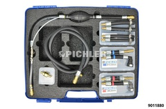 Kit de purge circuit de carburant UNI II p.raccords 8 et 10mm sur PSA, Ford, Volv Rover, Jaguar