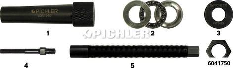 Spezial-Ausziehvorrichtung mit Hülse, Ausziehspindel, Lager u.Adapter CDI-Werkzg.