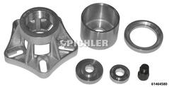 Radlagerwerkzeug Satz Peugeot Boxer, Citroen Jumper, Fiat Ducato Aus-/Einbau HA Set mit Flansch o. Hydraulik