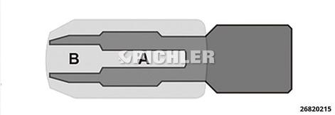 """Halter für Gewindeschneider M4-M14 mit Aufnahme 3/8"""""""