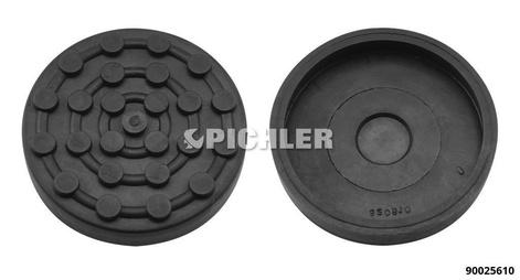 Hebebühnen-Gummiteller Ø 125 mm