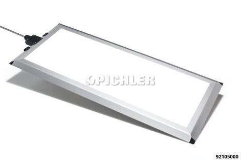 LED Flashpad Bodenpaneel 230 V Netzspannung, 9000 lm, 70W