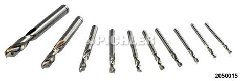 Spiralbohrer-Set HSS-ECO DIN1897PZ präzisionsschliff kurz 3-10 mm Satz 10-tlg.