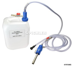 Filling Unit for SCR Systems in e.g. Audi, MB, Seat, Skoda, VW incl. 10 litre. canister for AdBlue