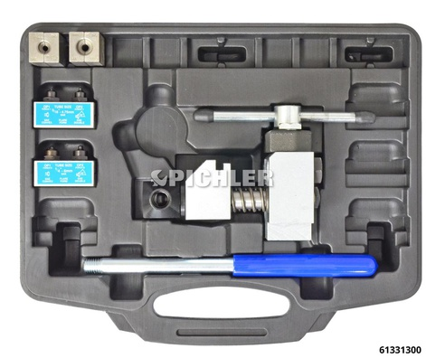 Doppel-Bördelgerät Mod. E für Leitungs-Ø: 4,75 und 6 mm ohne Zubehör für Motorräder, PKW