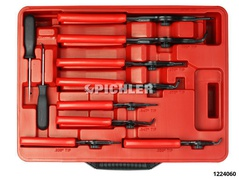 Circlip pliers set 11 pcs in a plastic case For inner and outer circlips