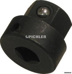 Gewindebohrer-Halteadapter für vierkant 6,2 mm Aufnahme 13 mm