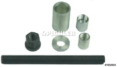 Mounting set for BMW drive shafts manual