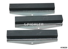 Segments p/outil a deglacer cylindre C & D fin 75mm