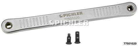 Ratchet Extension 3/8 with 2 adaptors 3/8 or 1/4