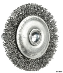 Mounted Wheel Brushes, Individual Filament Type 50x4mm