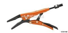 Spezial-Gripzange lange Zangenbacke 52mm Länge 180mm mit Zustellschraube Größe 1