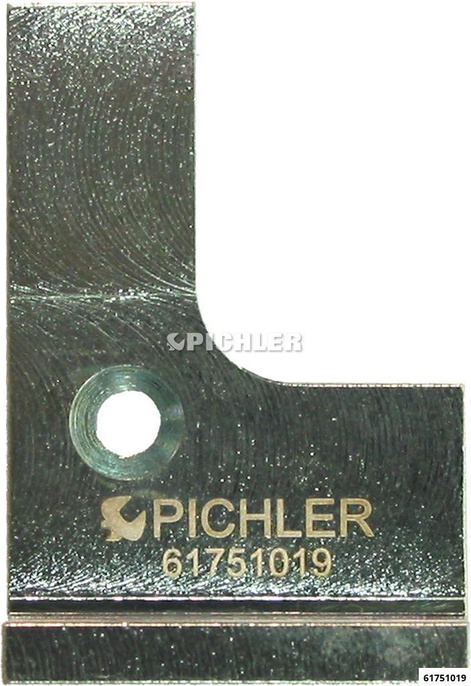 Distanzlasche rechts für U-Profil Golf 3 Verwendung Grundgerät  Ausführung U14